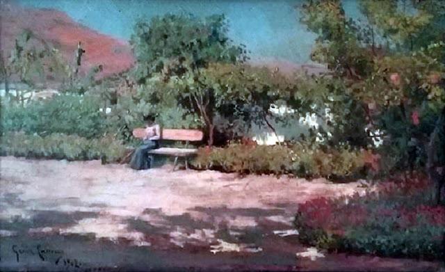 Diego García Carrera, Paisajistas españoles, Paisajes de Diego García, Pintor español, Pintores de Málaga, Diego García, Pintor Diego García