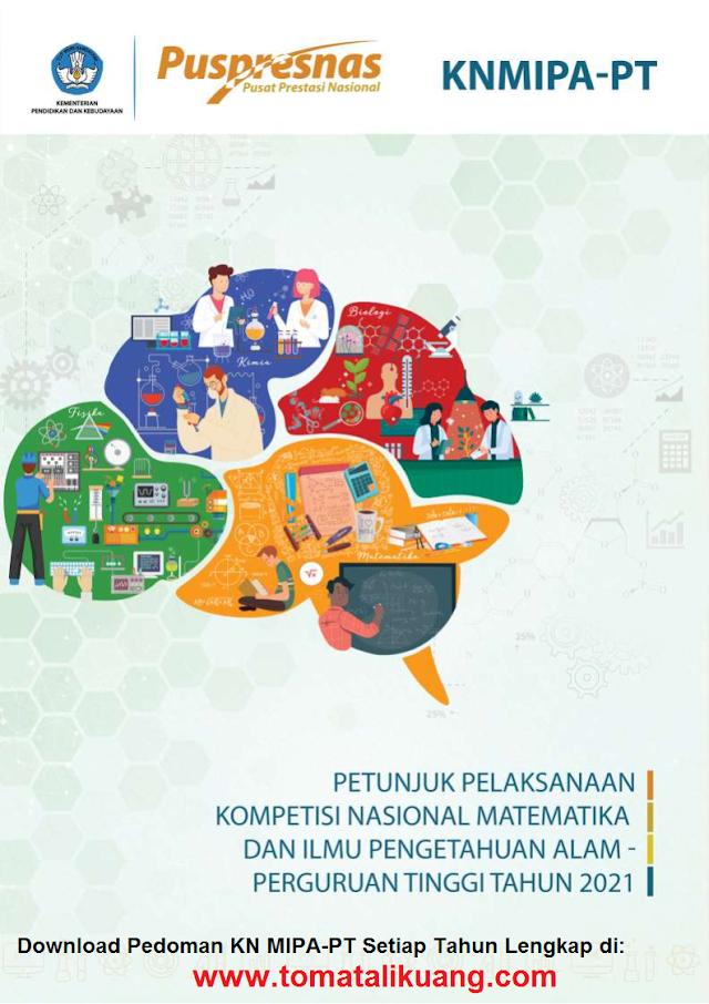 Download Buku Pedoman KN MIPA PT Tahun 2021 PDF