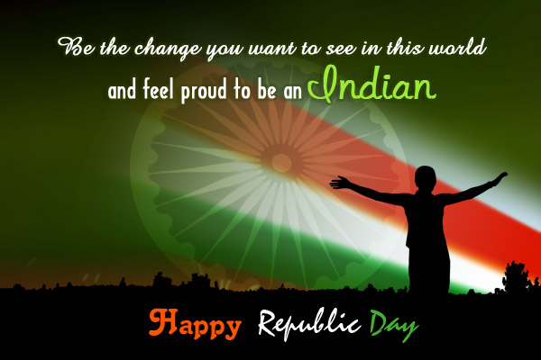Beautiful Happy Republic Day Wishes