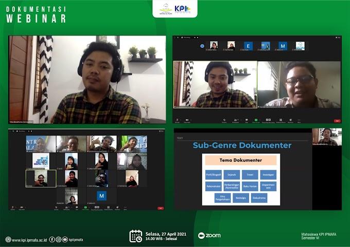 """Mahasiswa KPI Sharing """"Realita Dalam Layar Kaca"""" Bersama Film Maker"""