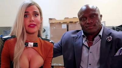 Bobby WWE Rusev Royal Rumble Lesbian Liv Morgan