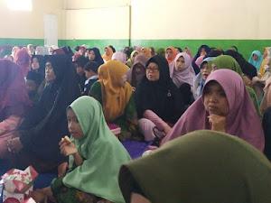 Kades Pasirpogor Sindangkerta Dukung Pengajian Bulanan Muslimat NU