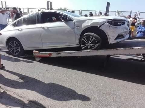 حمو بيكا يتعرض لحادث سيارة في الساحل.