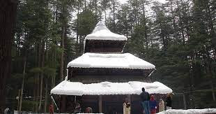 Hidimba-Temple-Manali-Winter