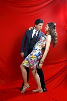 Shahrukh & Deepika on the cover of HT Brunch weekly, August 2013