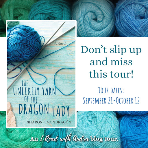 Join the tour for The Unlikely Yarn of the Dragon Lady