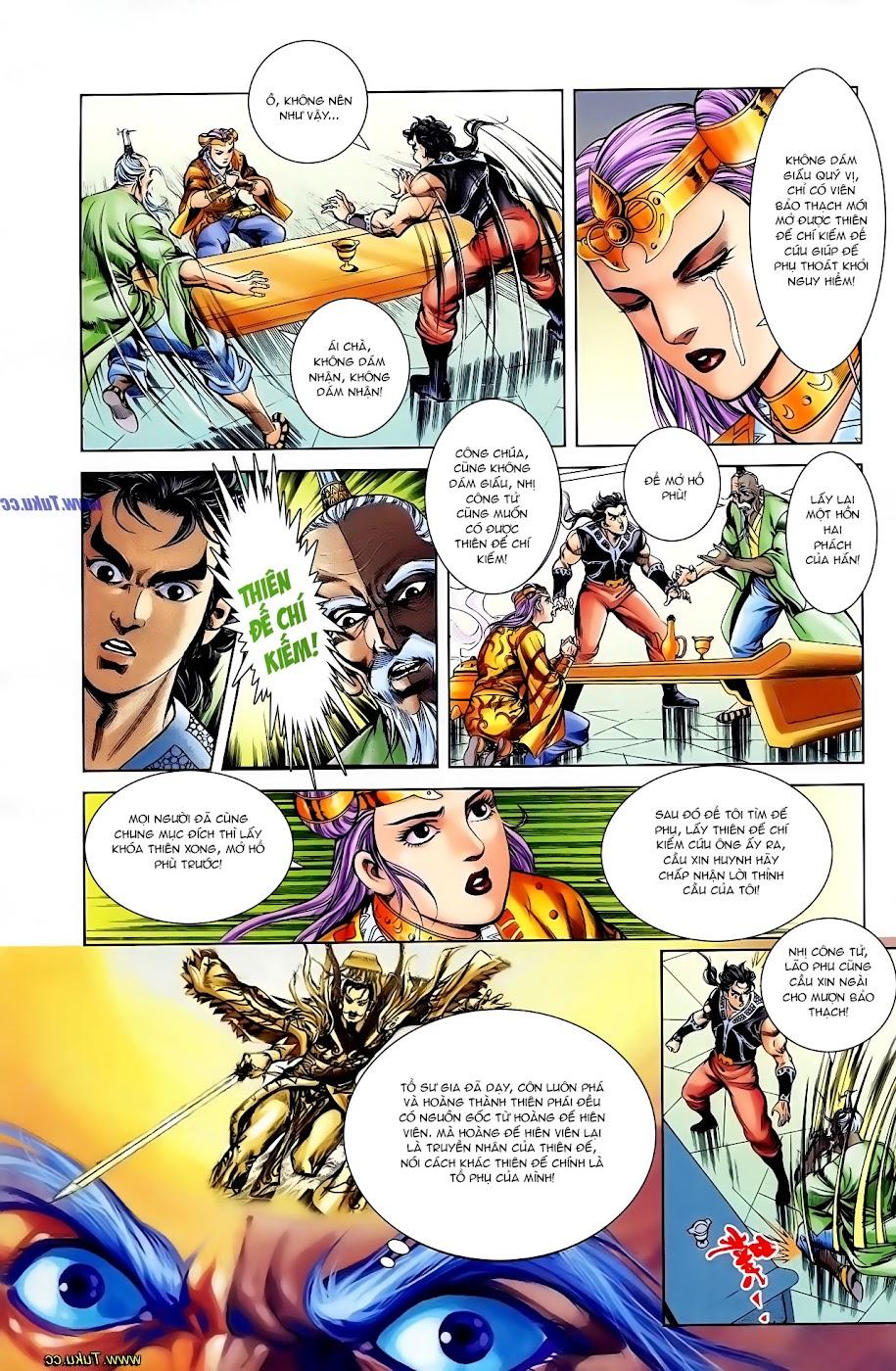 Cơ Phát Khai Chu Bản chapter 108 trang 21