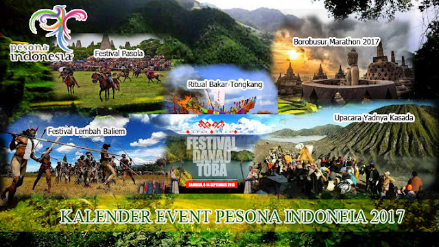 Kalender Event Pesona Indonesia 2017
