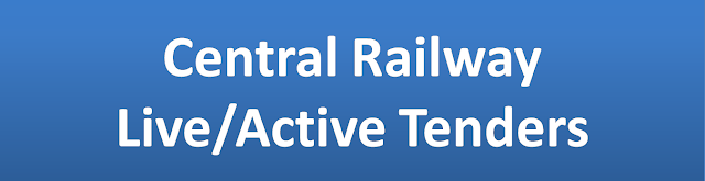 Central Railway Live Active Tenders