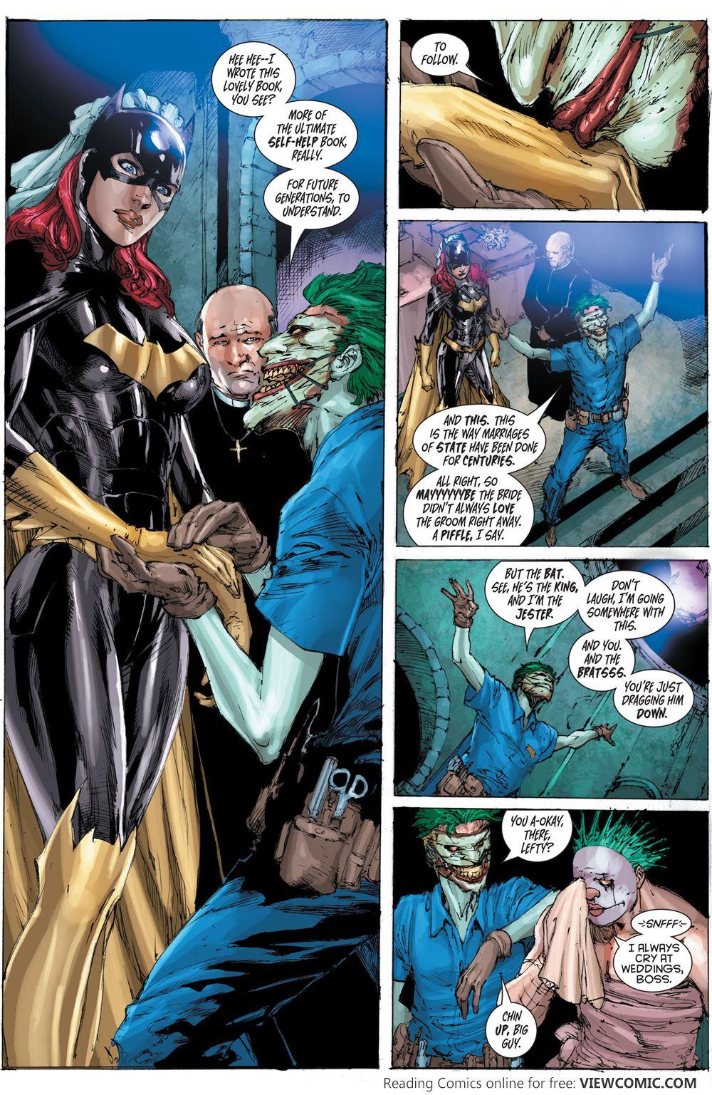 Batgirl Comics Porno Comics death of the family – 19 – batgirl 016 | viewcomic reading