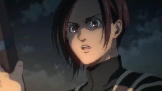 Sasha Mati, Connie Baper. Spoiler Attack on Titan Season 4 Episode 8