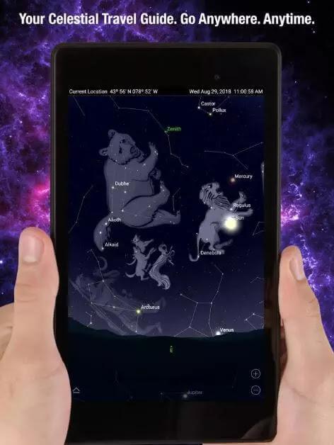 تطبيقات علم الفلك للأندرويد