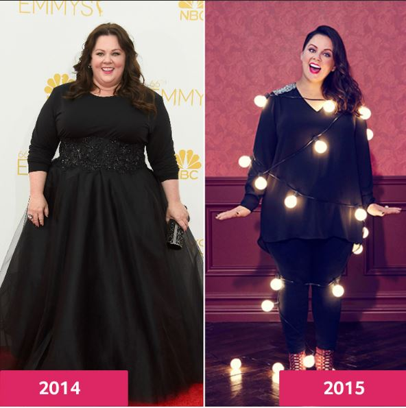 Melissa Mccarthy Weight Loss Before And After (Ellen Keto
