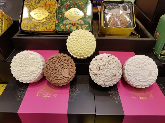 Moon cake-Centro commerciale Takashiama-Singapore