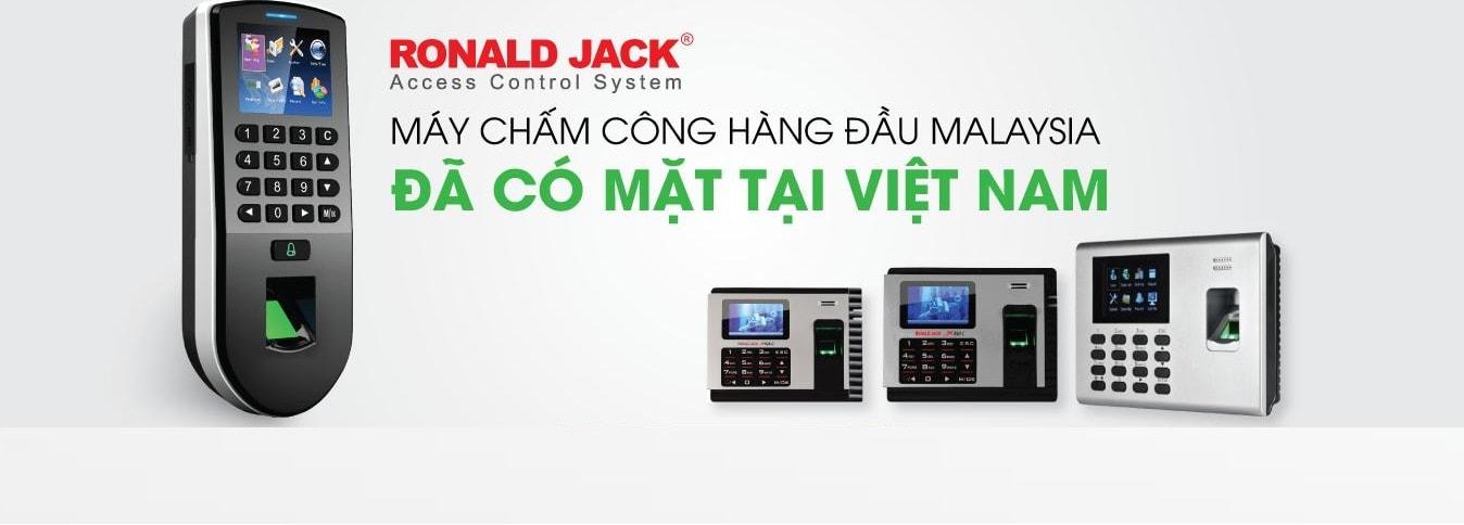 Máy Chấm Công Ronald Jack - Access Control System
