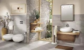 contoh desain kamar mandi hotel sederhana