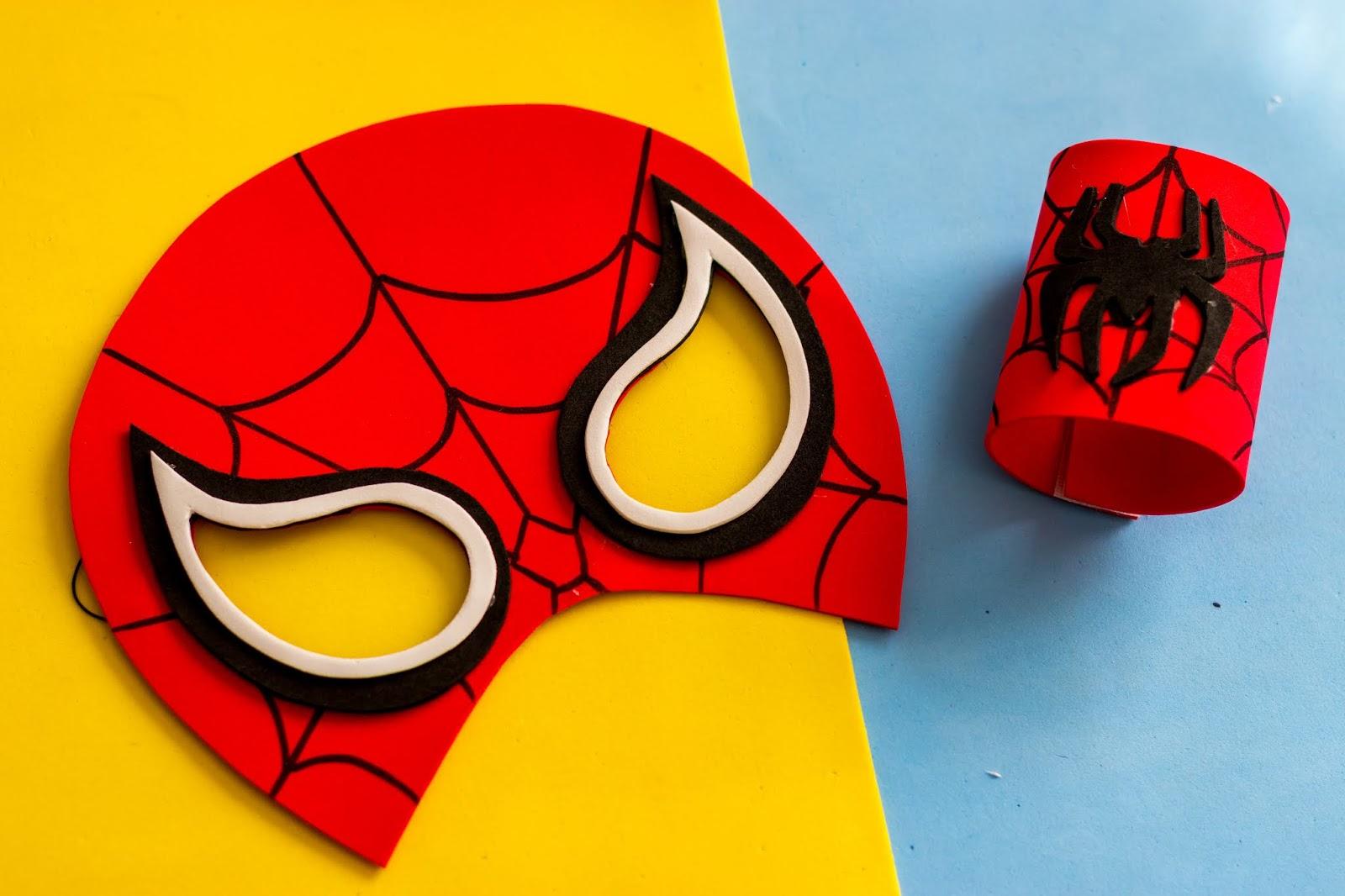 Mascara Do Homem Aranha E Bracelete Ju Arruda Blog