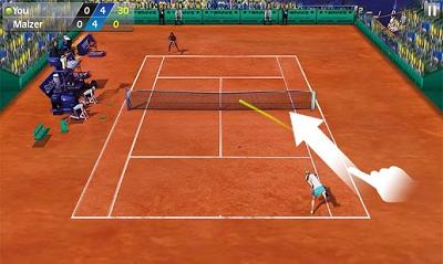 11. 3D Tennis