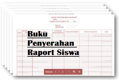 Download Buku Penyerahan Raport