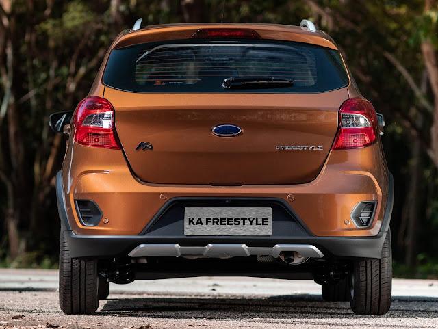 Novo Ford Ka FreeStyle 2019