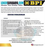 Loker Surabaya di CV. Bentang Persada Group Juni 2020