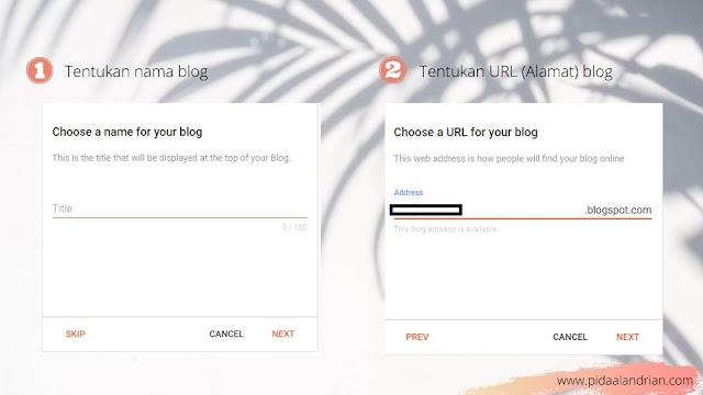 Cara membuat url blog