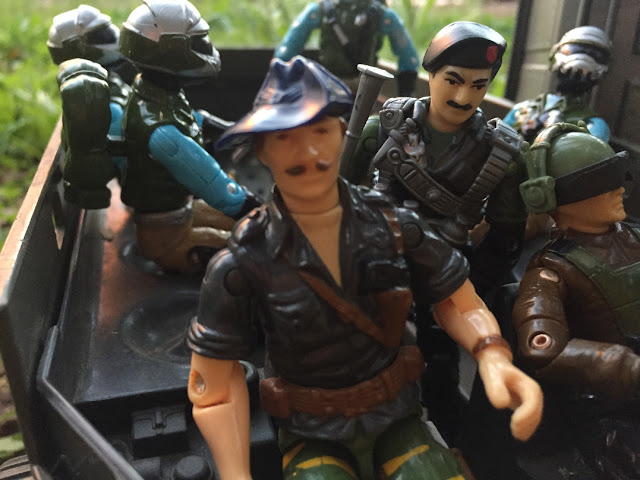 1988 Tiger Force Recondo, Tiger Fly, Dragonfly, Hardball, 1982 VAMP, Red Laser Army Sky Patrol Steel Brigade, Dial Tone, Thunder, 1986, 1984