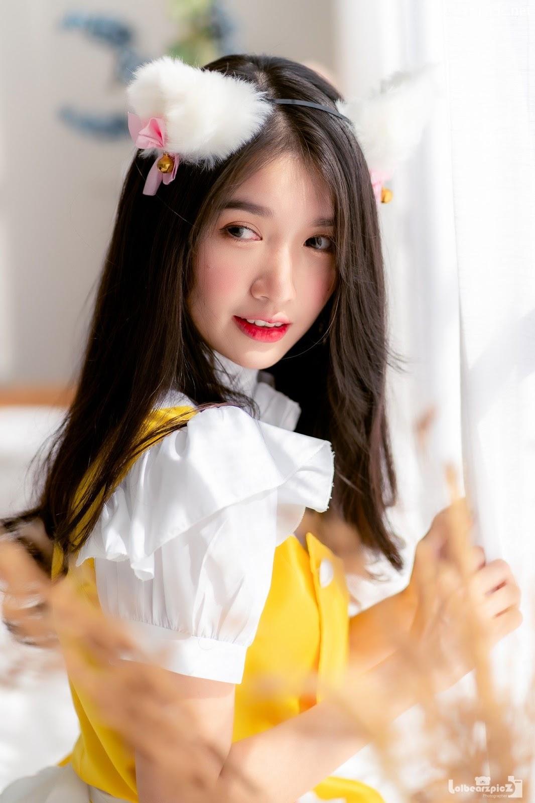 Image Thailand Model - Yatawee Limsiripothong - Cute Maid - TruePic.net - Picture-3