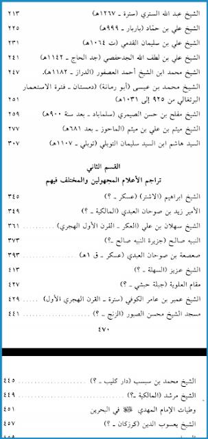 المزارات في البحرين pdf