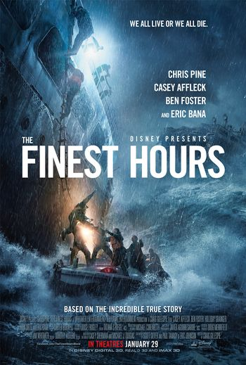 The Finest Hours (2016) Hindi BluRay 1080p 720p & 480p Dual Audio [Hindi (ORG 2.0) & English] | Full Movie