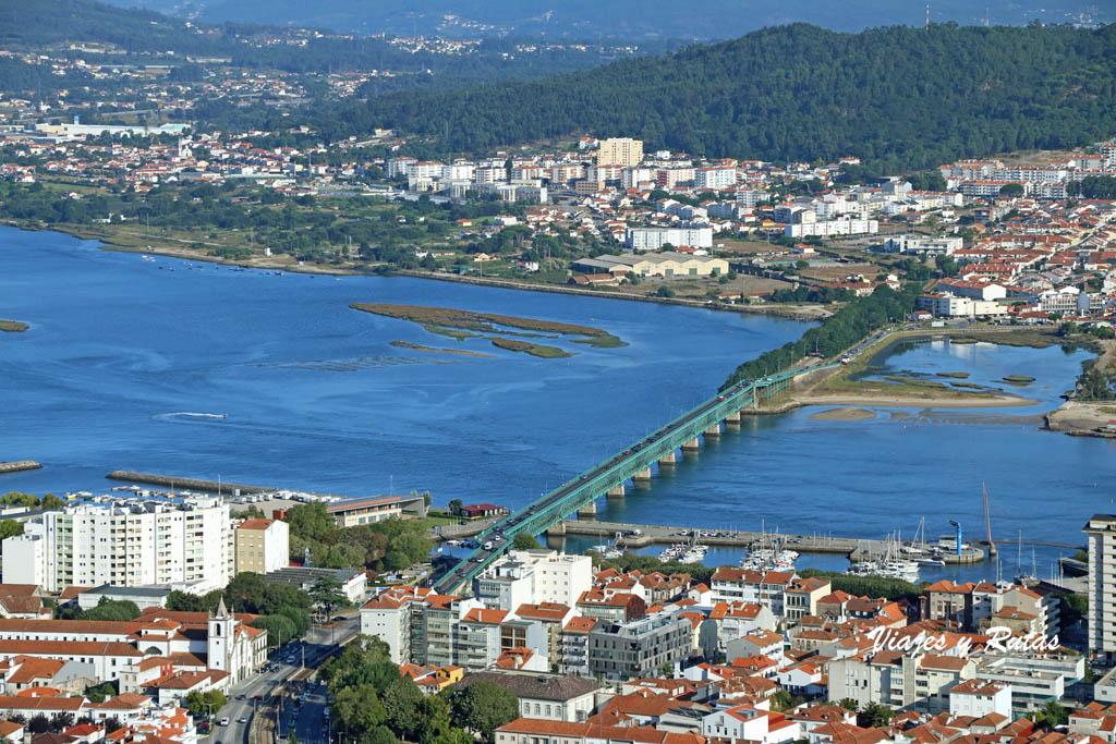 Vistas desde el Santuario de Santa Luzia de Viana do Castelo