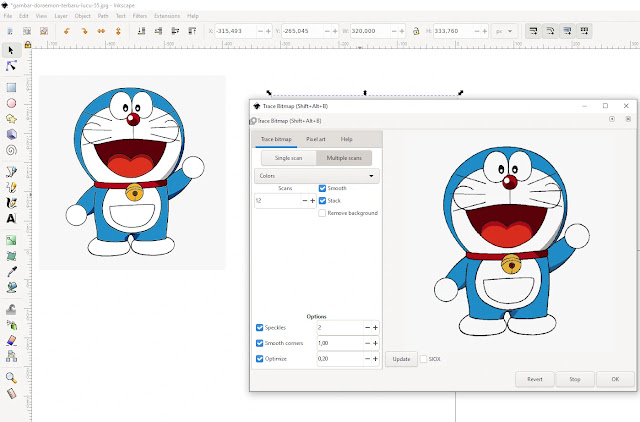 Cara Merubah Objek Menjadi Path Di Inkscape 1.0