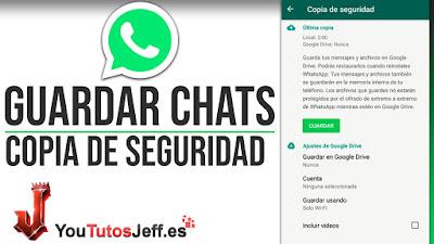 Guardar mis Conversaciones de Whatsapp - Trucos Whatsapp