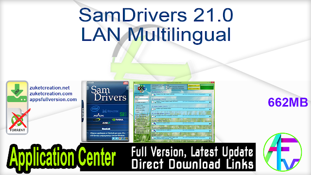 SamDrivers 21.0 LAN Multilingual