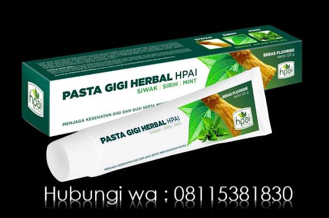 Pasta gigi Herbal HPAI