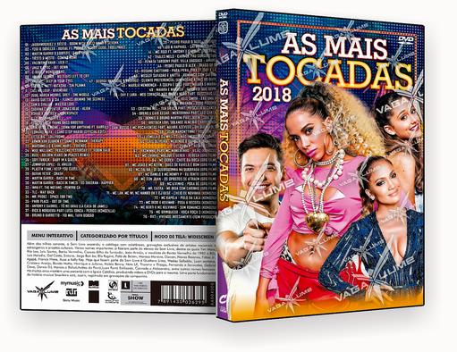 DVD-R AS MAIS TOCADAS ABRIL 2018 – AUTORADO