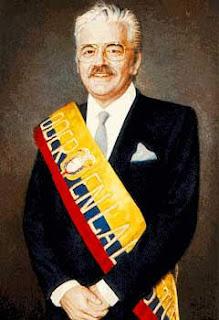 Presidente Leon Febres Cordero Ribadeneira Ecuador