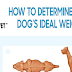 How to Determine Your Dog's Ideal Weight #infographic