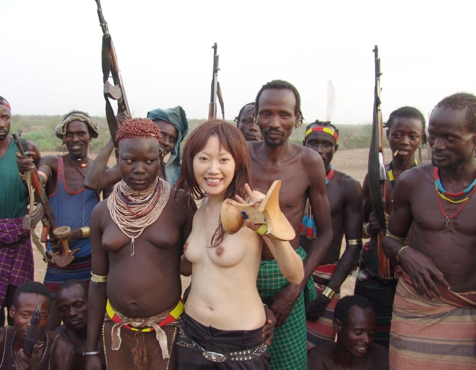Japanese Nude In Africa 74