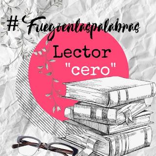 Banner de lector cero para #Fuegoenlaspalabras