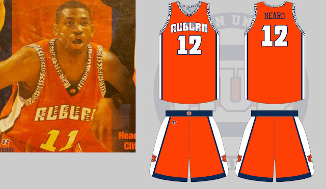 auburn basketball uniforms 2000