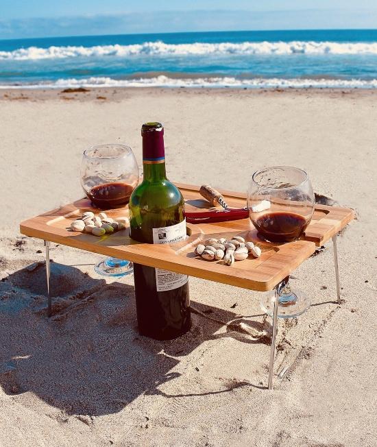 Mini Picnic Wine Table