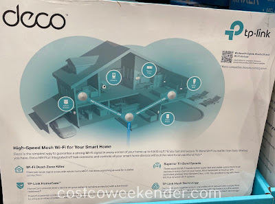 Costco 1315714 - TP-Link Deco M9 Plus AC2200 Wi-Fi System: great for any home of the 21st century