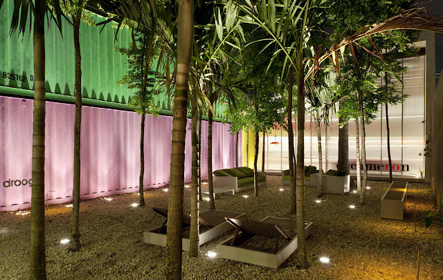 Decameron - Low Budget Colorful Shipping Container Store, Brazil 16