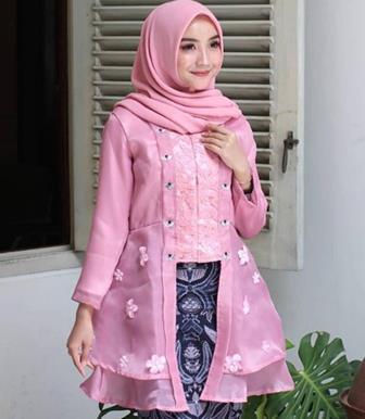 Contoh Baju Kebaya Modern Berjilbab