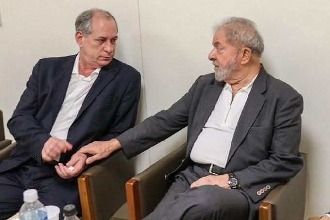 Lula diz estar disposto a conversar com Ciro Gomes sobre eleição