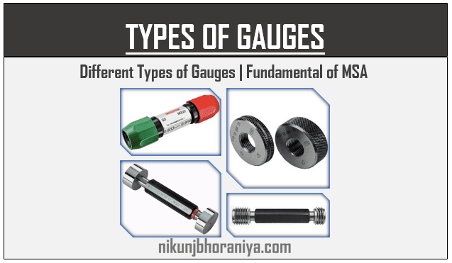 Types of Gauges in measurement  Explained with Example