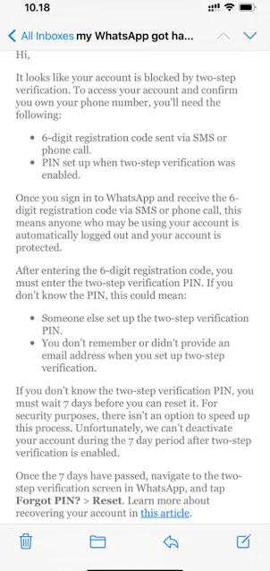 Cara Mengatasi Hack Wahtsapp 3