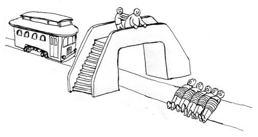 push the trolley