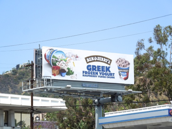 Ben Jerrys Raspberry Fudge Chunk billboard